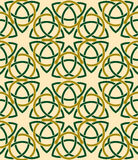 Celtic Style Vector Seamless Pattern Background Royalty Free Stock Photo