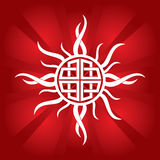 Celtic sun Royalty Free Stock Photo