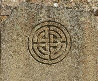 Celtic symbol. Celtic knot - symbol of the eternal return Stock Photo