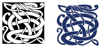 Celtic symbol - tattoo or artwork Stock Image