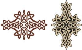 Celtic tattoo design Stock Photos