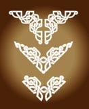 Celtic Tattoo Sepia Stock Images