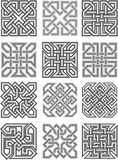 Celtic traditional ornaments Stock Photos