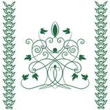 celtic tree royaltyfri illustrationer