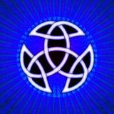 Celtic Trinity Knot Royalty Free Stock Photos