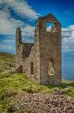 Cornish Mine at Botallack Stock Photo
