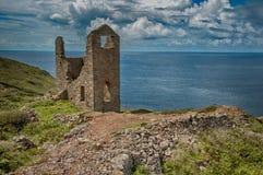 Cornish Tin Mine at Bottallack Royalty Free Stock Photos