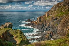 Tin Mines At Botallack Cornwall Stock Images