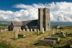 Parish Church of Saint Materiana at Tintagel. Cornwall Stock Images