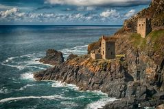 Crown Mines At Botallack Royalty Free Stock Image