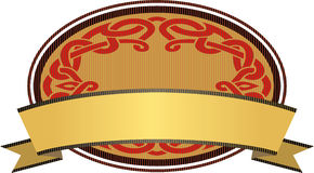 Celtic Vintage Blank Banner Royalty Free Stock Photography