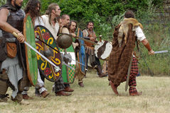 Celtic warriors. Royalty Free Stock Photography