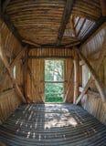 Celtic watchtower at Havranok - Slovakia. Inside Celtic watchtower at open-air musem Havranok - Slovakia royalty free stock photo