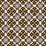 Celtic waves decoration generated seamless texture Royalty Free Stock Photos