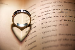 Celtic Wedding Ring Royalty Free Stock Images