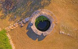 Free Celtic Well In Dalmatian Hinterland Stock Images - 179289974