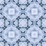 Celtic Winter Ice Repeating Seamless Background Pattern Royalty Free Stock Photography