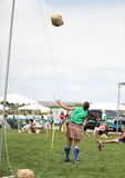Celtic Woman Sheath Toss Stock Photos
