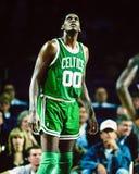 Celtics de Robert Parrish Boston Photographie stock
