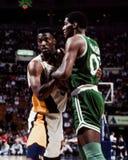 Celtics de Robert Parrish Boston Photo libre de droits