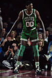 Celtics de Roberto Parrish Boston Foto de archivo
