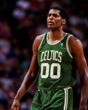 Celtics de Roberto Parrish Boston Foto de archivo libre de regalías