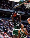 Celtics de Roberto Parrish Boston Imagenes de archivo