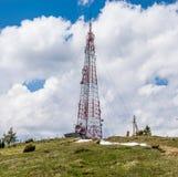 Celtoren bovenop een heuvel royalty-vrije stock fotografie