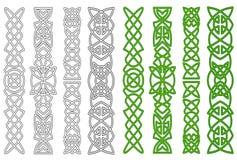 Celtów elementy i ornamenty Fotografia Royalty Free