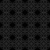 Celtycki bezszwowy wzór Abstrakcjonistyczny ornament, geometryczna tekstura, rocznik tapeta, średniowieczny klasyczny etniczny st Zdjęcia Stock