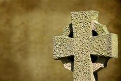 Celtycki krzyż Fotografia Royalty Free