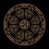 Celtycki ludowy ornament Obraz Stock