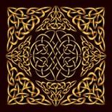 Celtycki ludowy ornament Fotografia Royalty Free