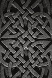 Celtyckiego krzyża wzór fotografia royalty free