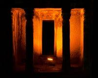 Celui avec la salle orange Image libre de droits