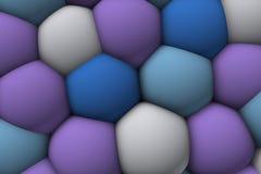 Celular lättnad 3d för stor mjuk colorist 1 Royaltyfri Foto
