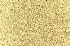 celulose Suplemento ao alimento Olhares como o fim da serragem acima do papel de parede imagem de stock