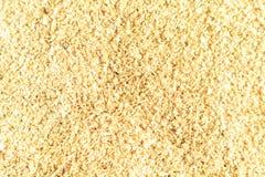 celulose Suplemento ao alimento Olhares como o fim da serragem acima do papel de parede fotografia de stock royalty free