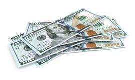 Cem cédulas novas do dólar ilustração stock