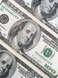 Cem contas de dólar Fotos de Stock Royalty Free
