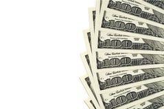 Cem contas de dólar Imagens de Stock Royalty Free