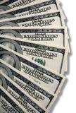 Cem contas de dólar E.U. Fotografia de Stock Royalty Free