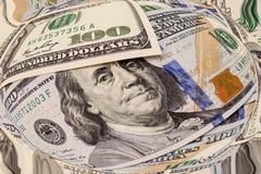 Cem dólares Foto de Stock