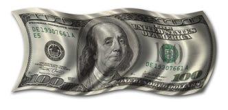 Cem dólares Bill Imagens de Stock Royalty Free