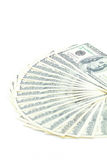 Cem dólares de América Imagem de Stock Royalty Free