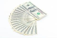 Cem dólares de América Imagem de Stock