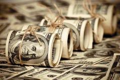 Cem dólares de E.U. Foto de Stock