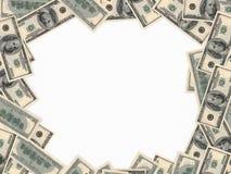 Cem dólares de fundo Imagem de Stock Royalty Free