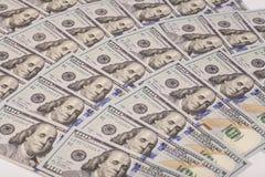 Cem dólares Fotografia de Stock