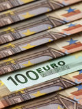 Cem euro Fotografia de Stock Royalty Free